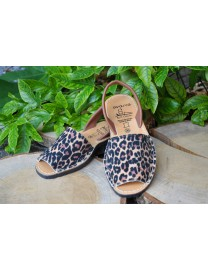 Menorquinas Animal Print Leopardo