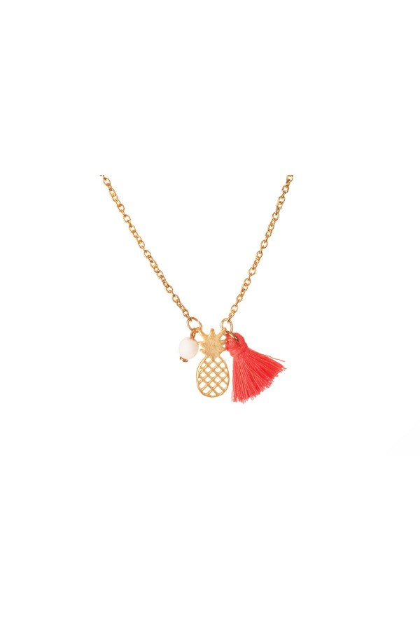 Pineapple Necklace 01SS16014