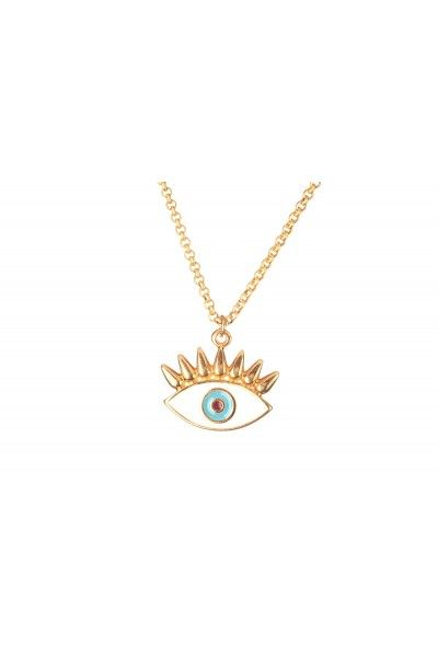 Evil Eye Necklace 01SS16015