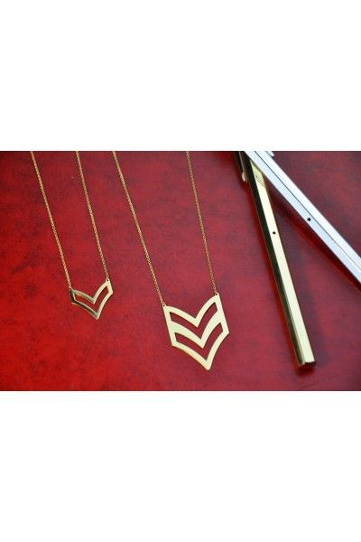 Chevron Necklace 01LAW15001