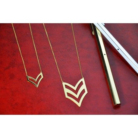 Chevron Necklace 01LAW15002