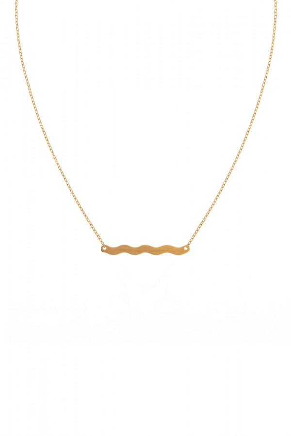Wave of Life M Necklace