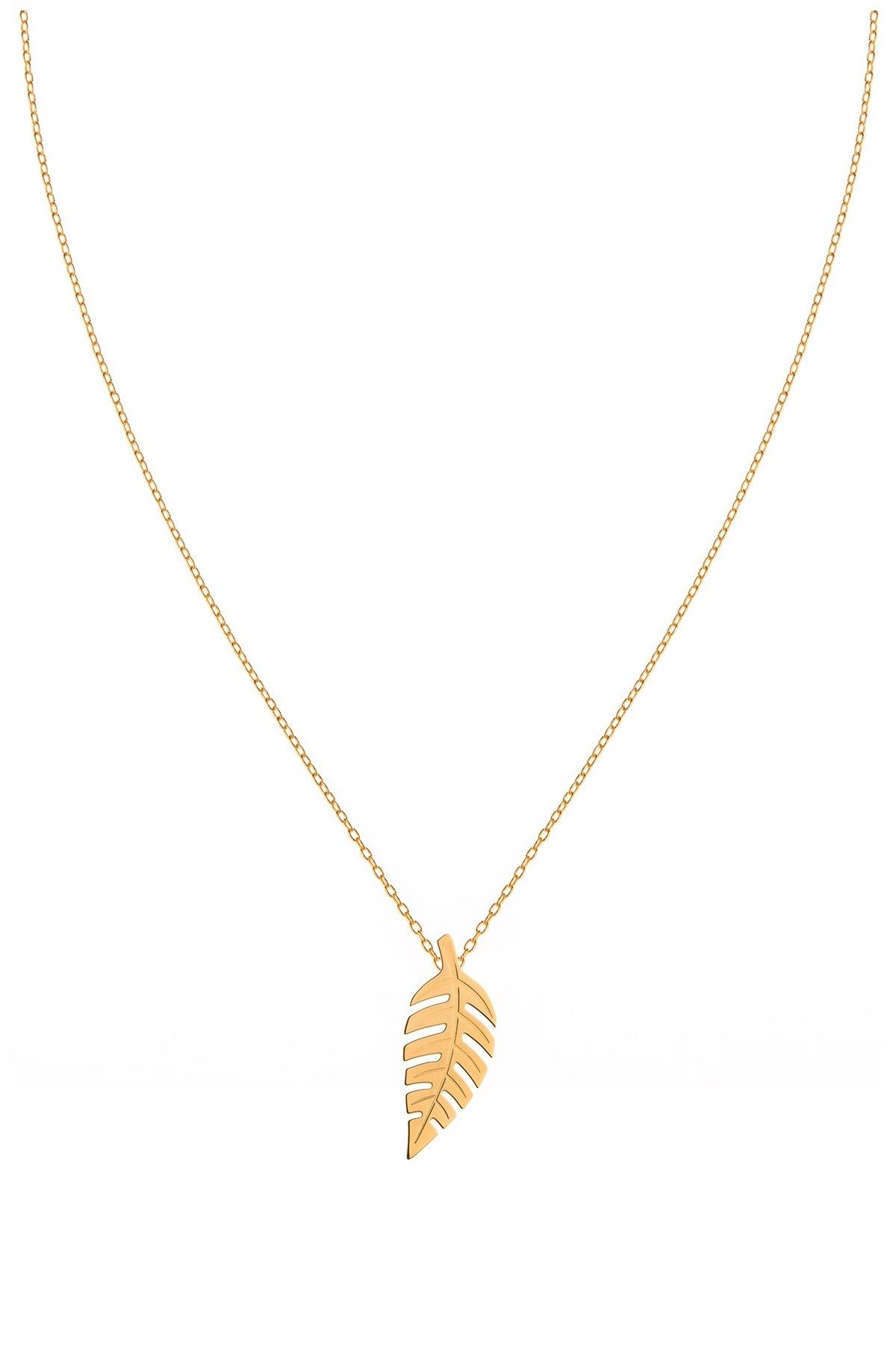 Bold Leaf Necklace