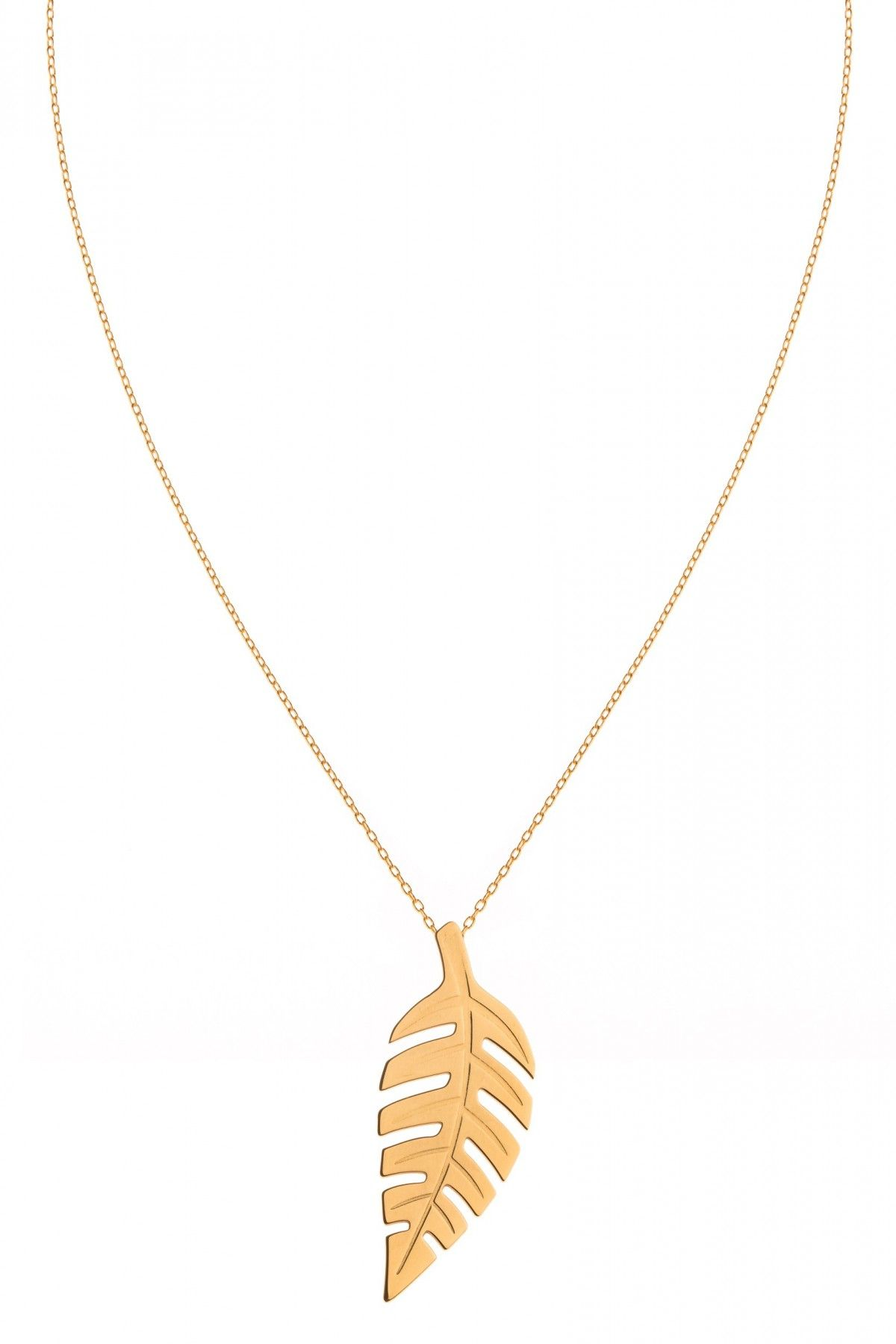 Bold Leaf XL Necklace