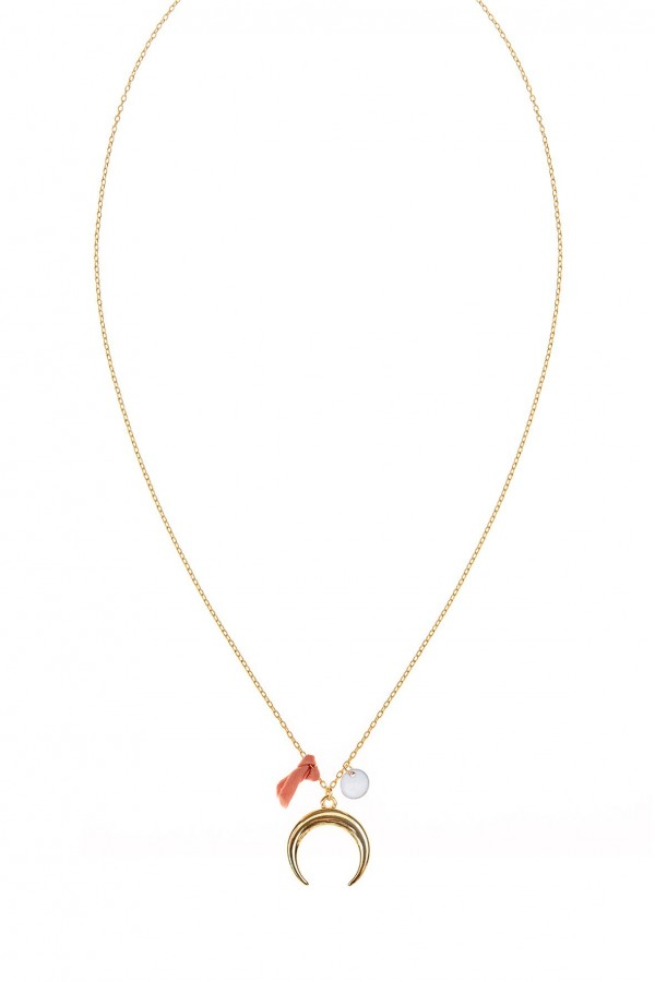 Chiara Half Moon Necklace