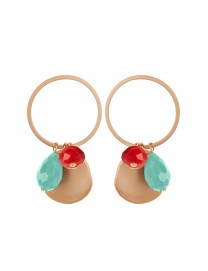 Golden Smart Earrings