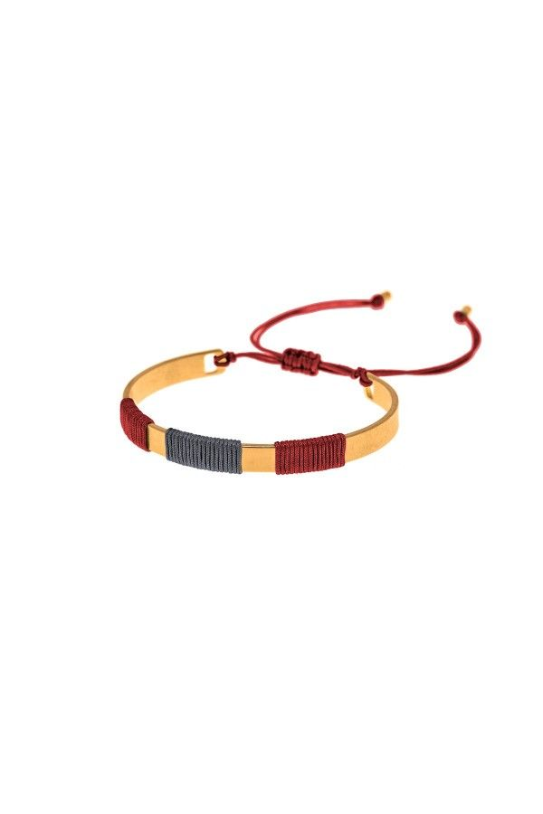 Bracelet Golden Burgundy