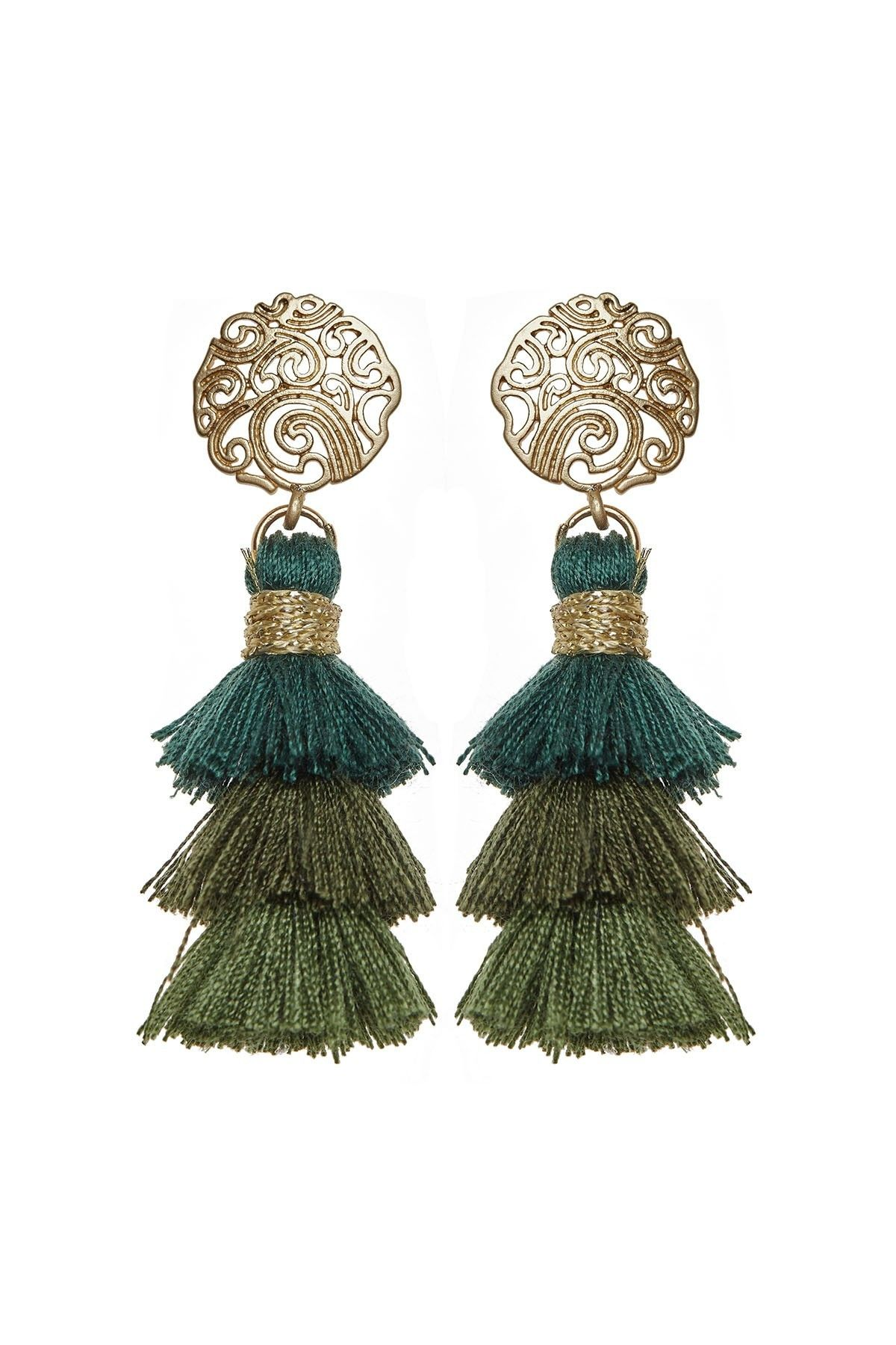 Green Eden Earrings