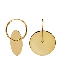 AMULETTO GOLD EARRINGS
