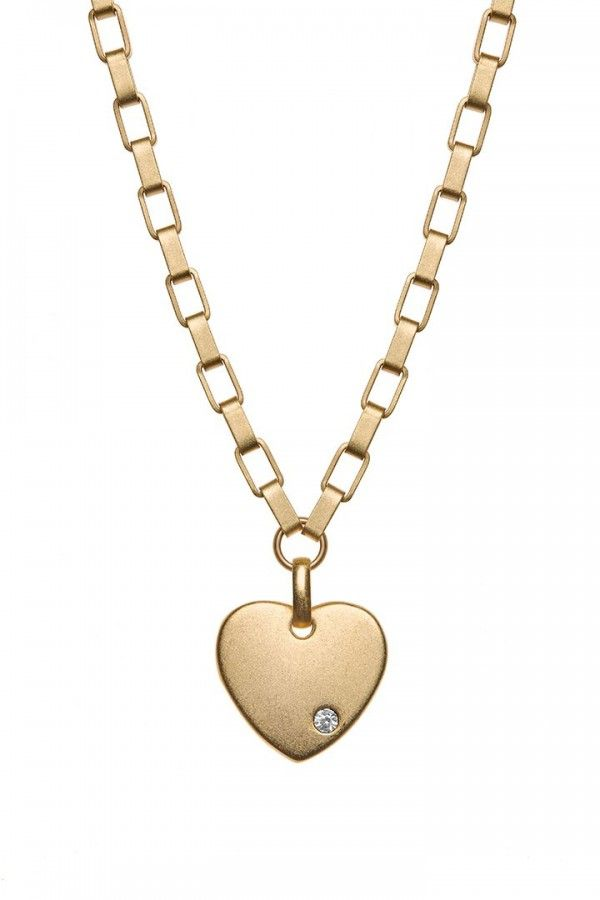 2D Heart Necklace