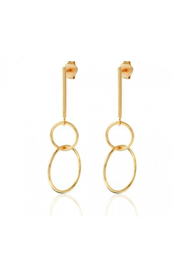 Closed Circles Earrings