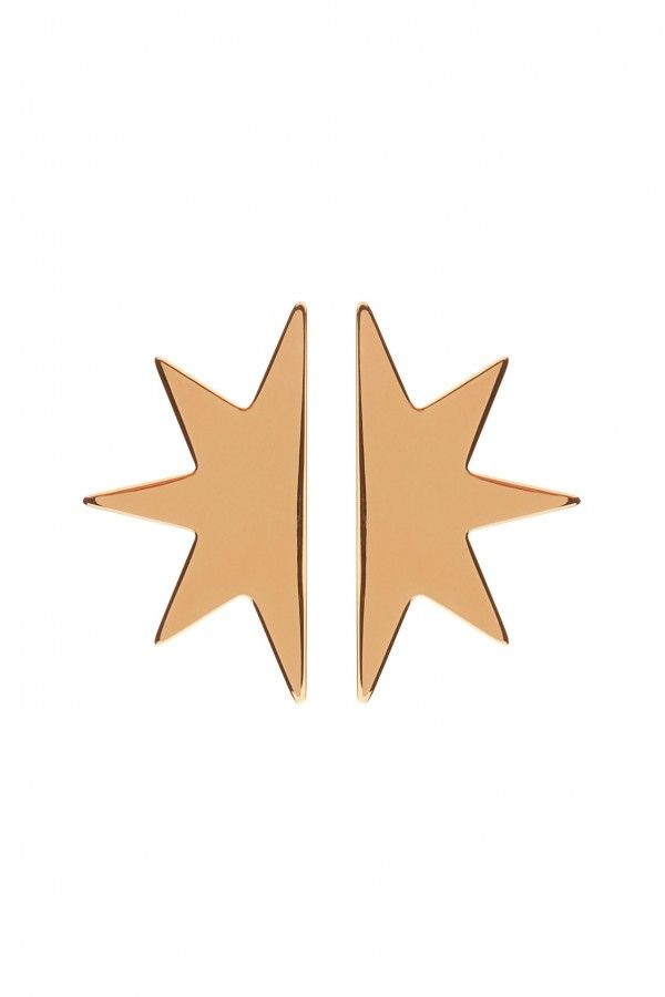XL Half Star Earrings