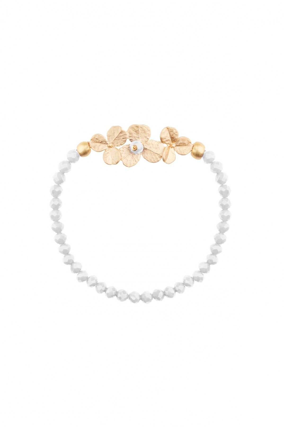 Golden Flowers Bracelet