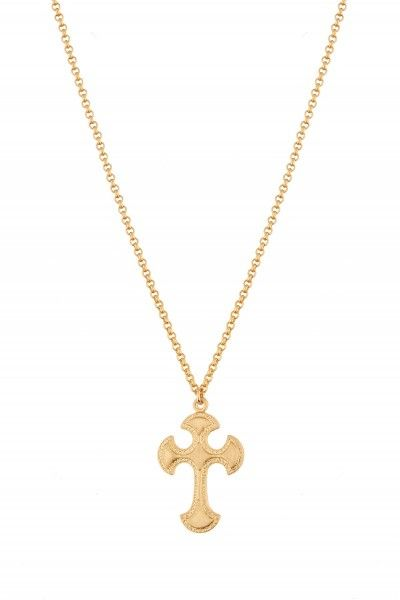 Bizantine Cross Necklace