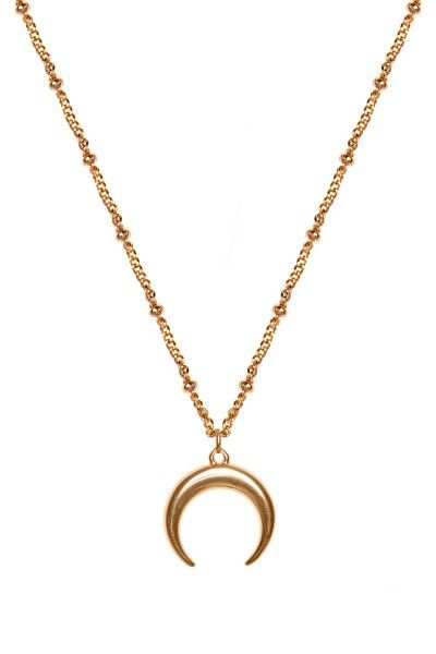 Gigi Half Moon Necklace