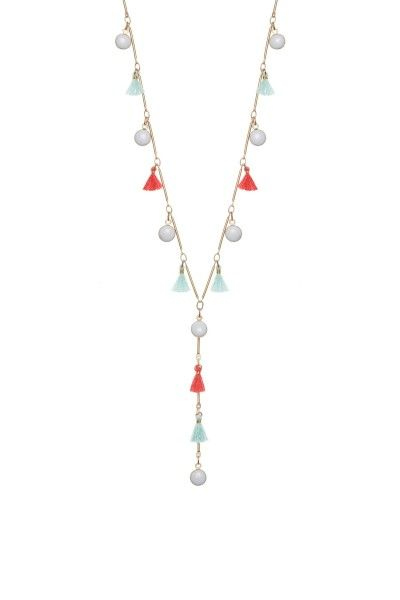 Cocktail Party Summer Necklace