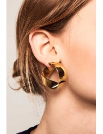 GRAVITY GOLD EARRINGS