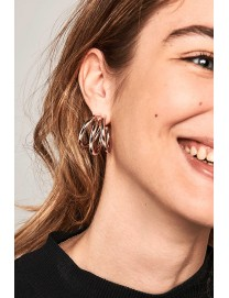 TRUE ROSE GOLD EARRINGS