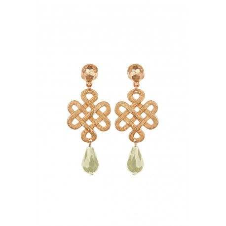 Eternity Knot Earings