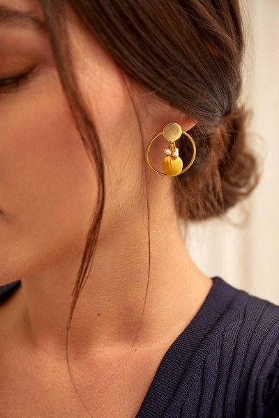 Inner Silk Earrings