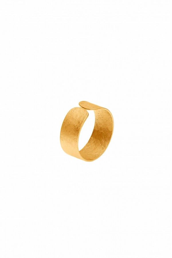 Golden Band Ring