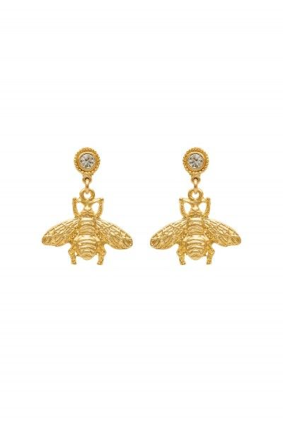 Sparkling Bug Earrings