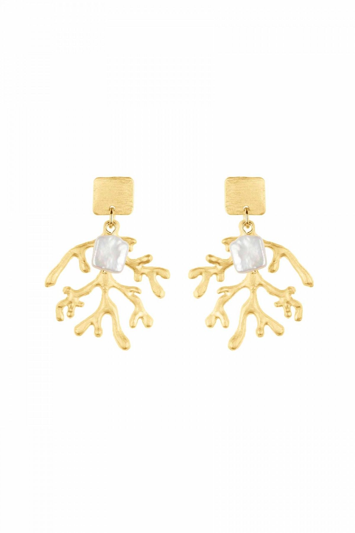 copy of Seaweed Pearl Earrings