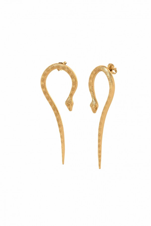 Cleo Snake Earrings
