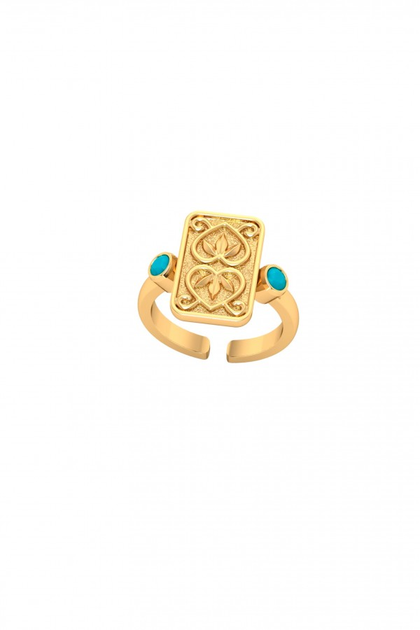 Anillo Together Oro Vermeil