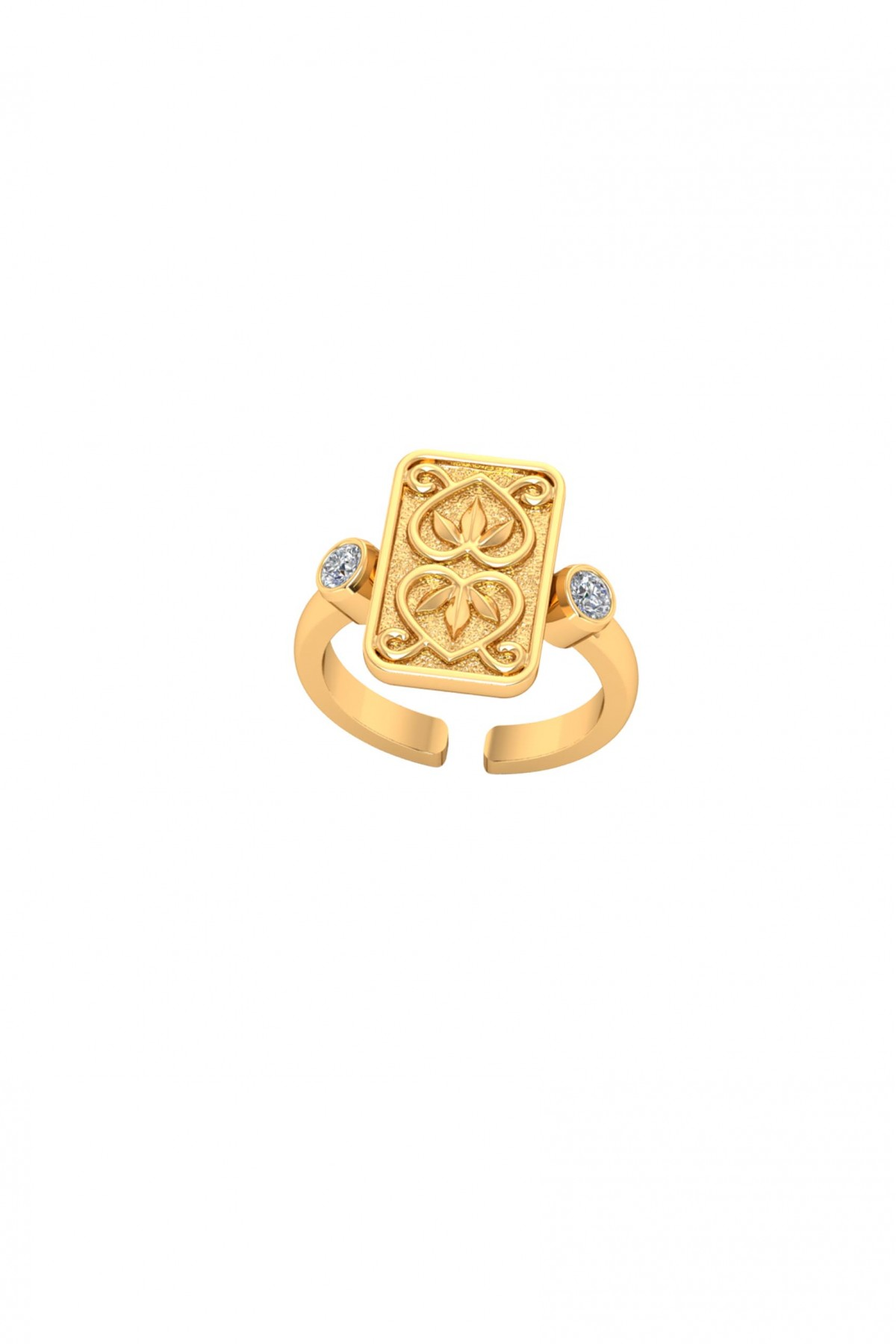 Together Gold Vermeil Ring