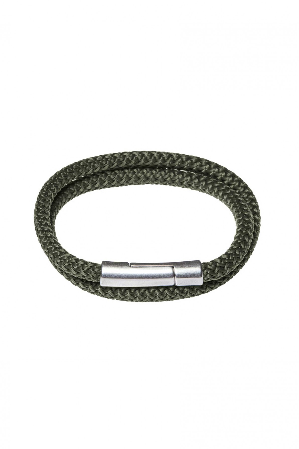 Pulsera Hombre Forrest Green Double