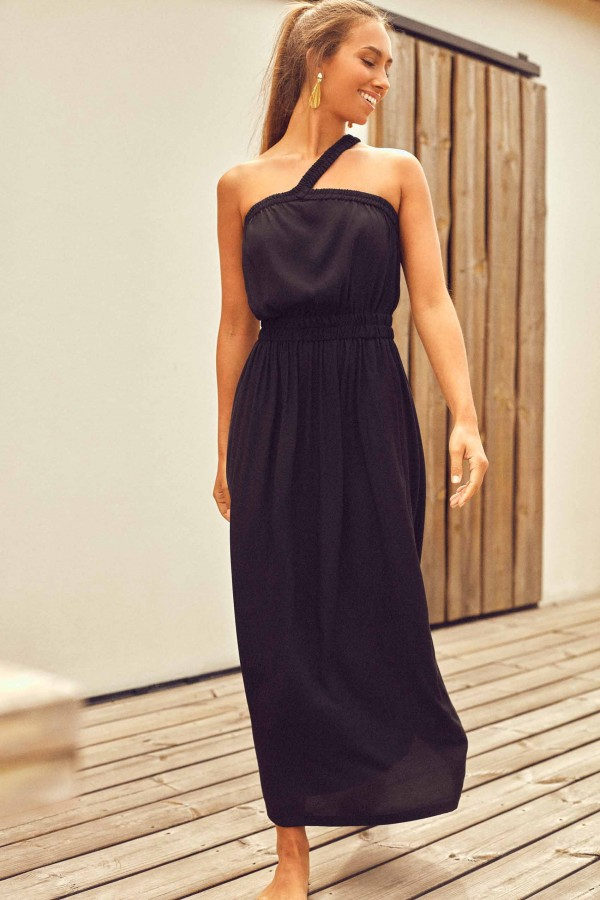 Vestido Cleo One Shoulder...