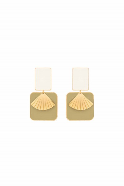 Simple Déco Earrings