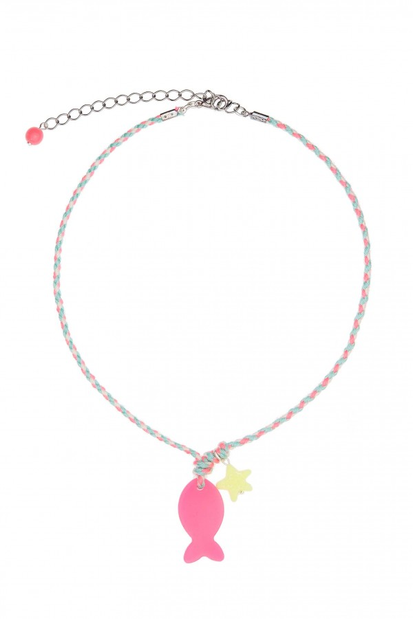 Lollipop Fish Kids Necklace