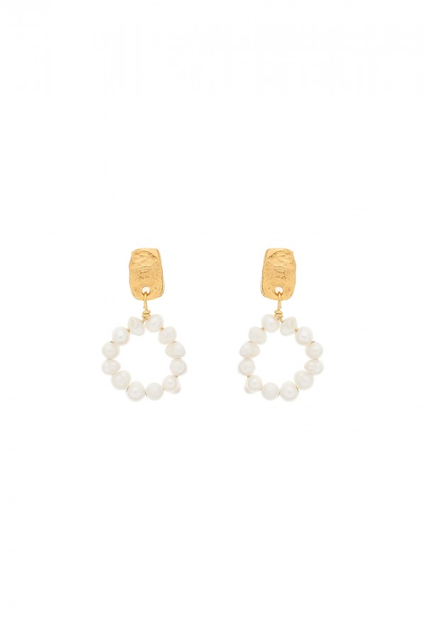 Pendientes Pearly Circle
