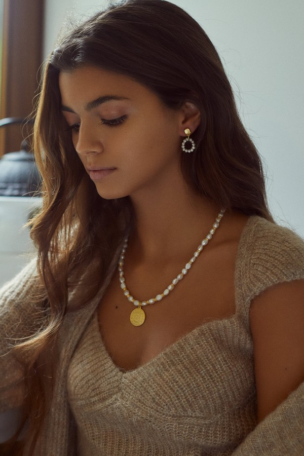 Sunshine Pearls Necklace