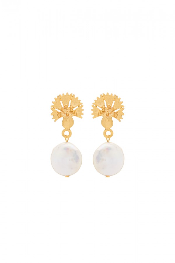 Daria Round Earrings