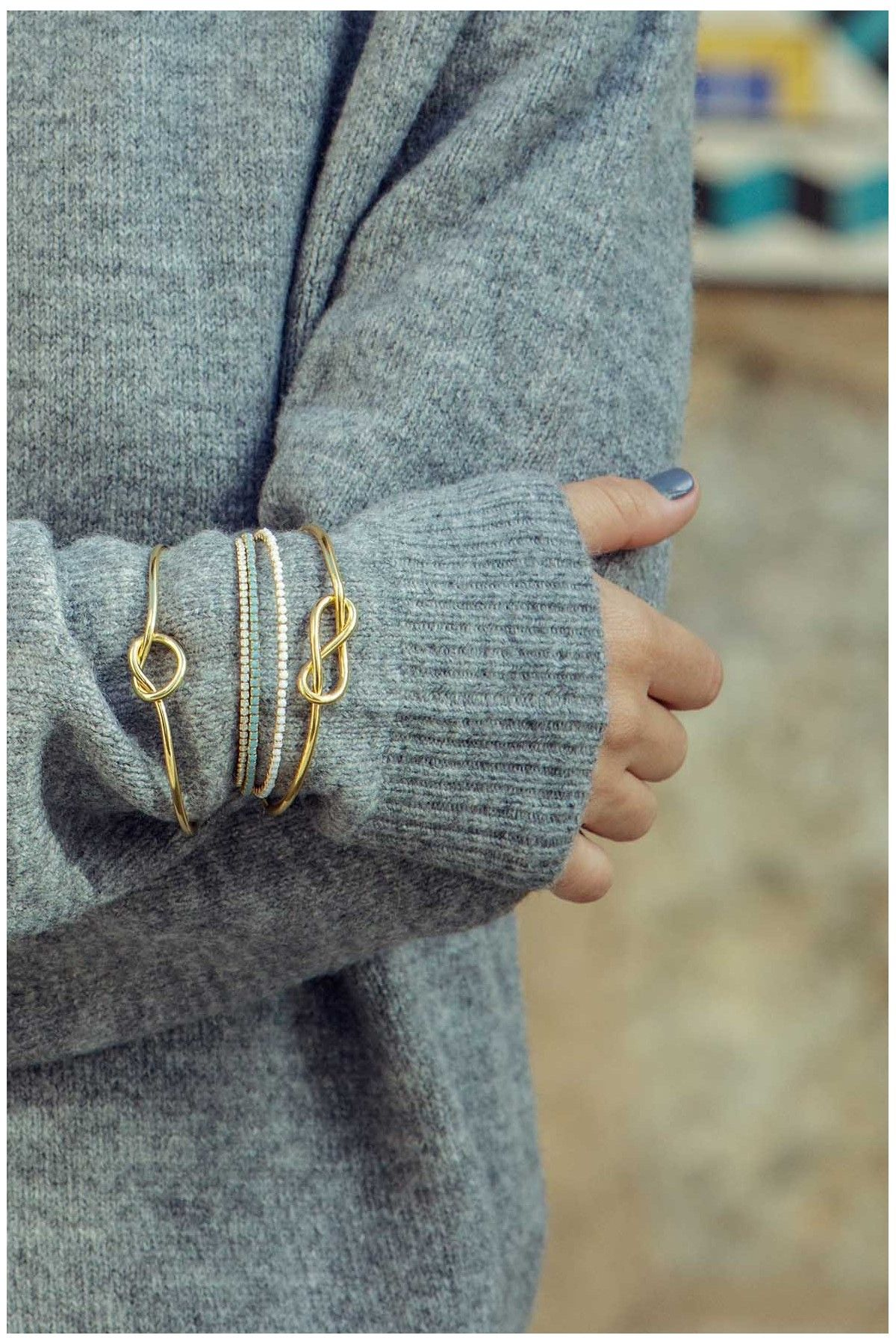 Simple Knot Cuff