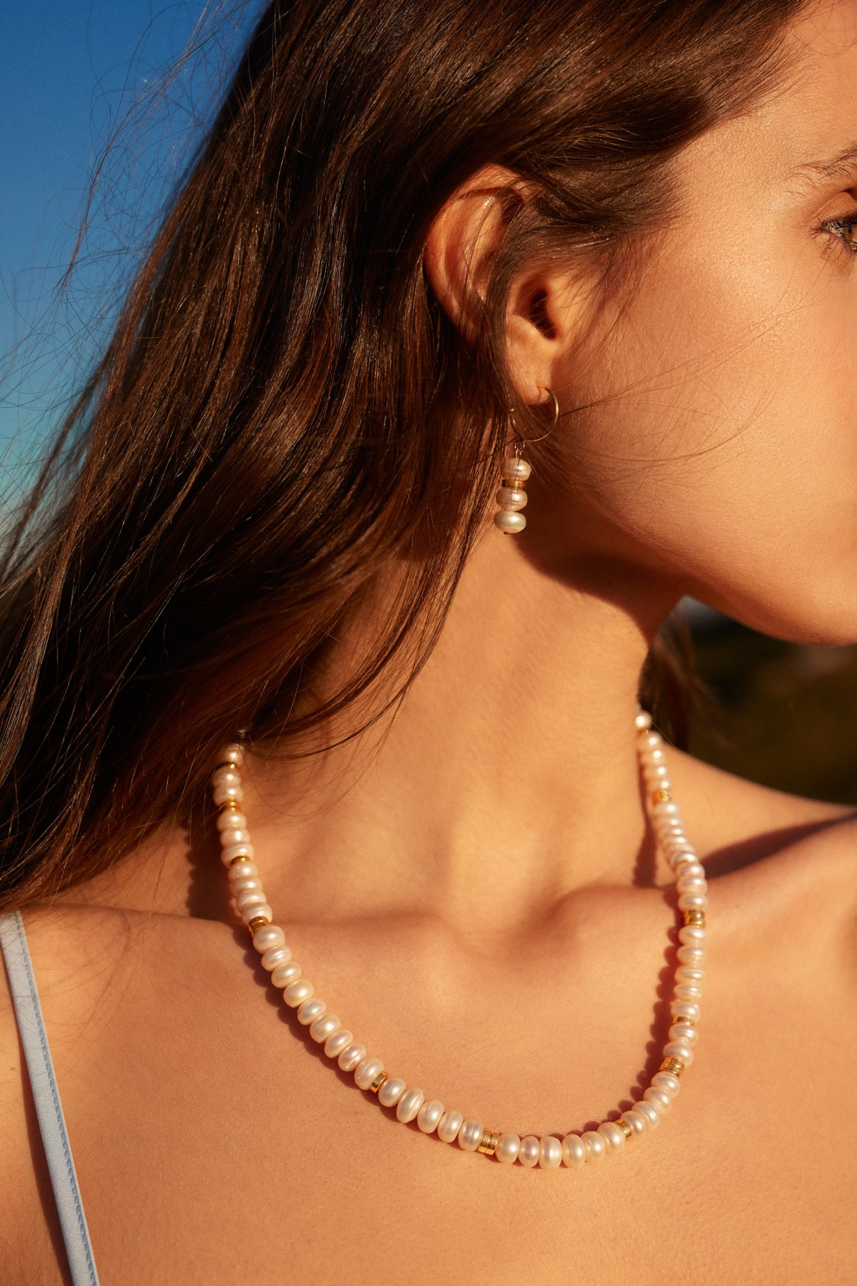 Chloé Pearls Necklace