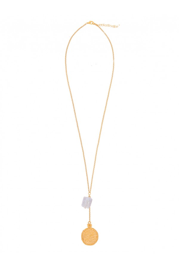 Golden Hour Pearl Necklace